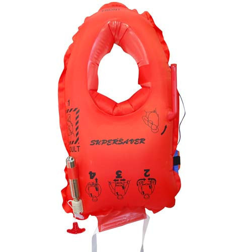 Crew LifeJacket EASA approved - Orange