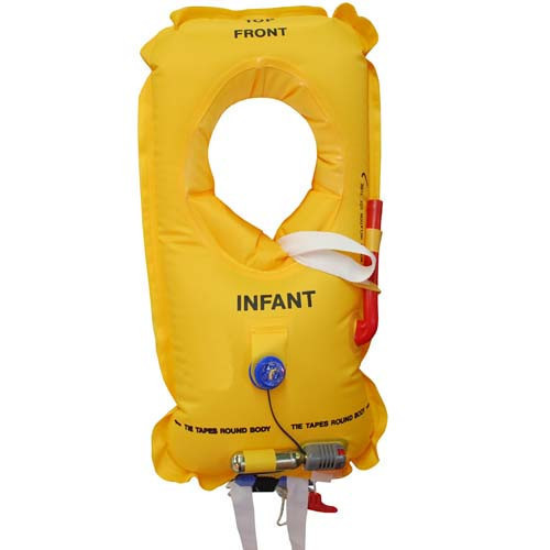 Infant LifeJacket EASA approved - Yellow