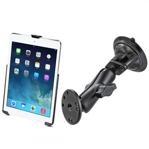 RAM Apple iPad 5th - 6th Gen, iPad Air 1 - 2 & Pro 9.7 Suction Mount Bundle