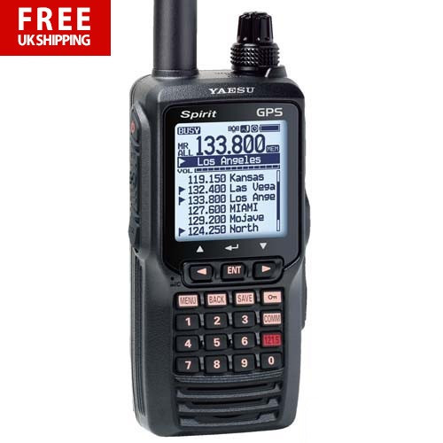 185076b265b Yaesu FTA-750L Spirit Handheld VHF Transceiver