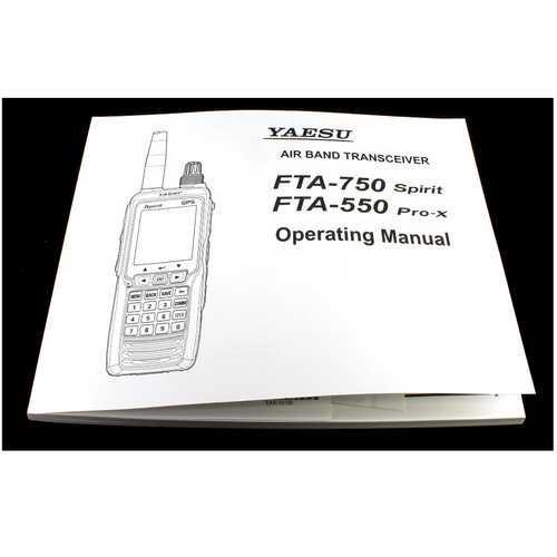 Yaesu English Operating Manual For Transcievers
