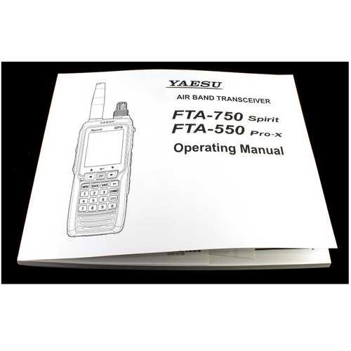 Yaesu English Operating Manual For Transcievers