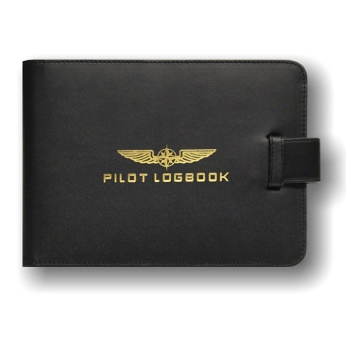 Design4Pilots PPL Logbook Cover - Closed