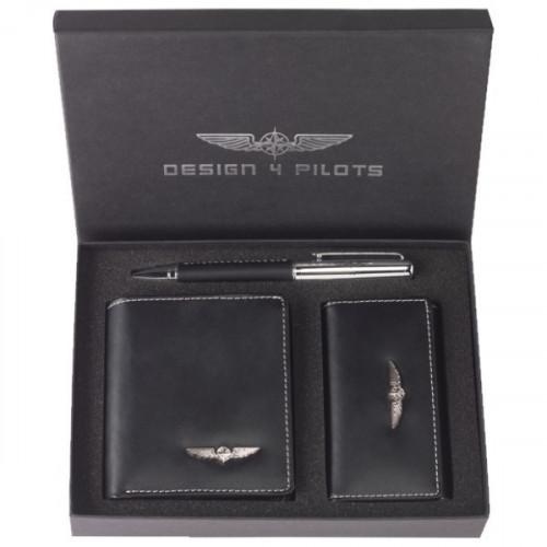Image of Design4Pilots Pilot Wallet Set