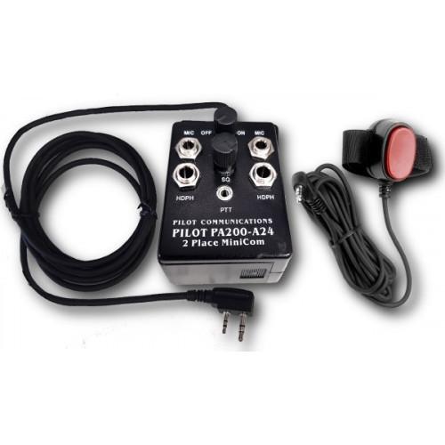 Portable Inercom for Pilot PA200-A24
