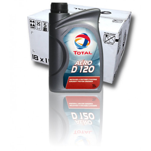 Total Aero D120 - Case of 18 Litre Bottles
