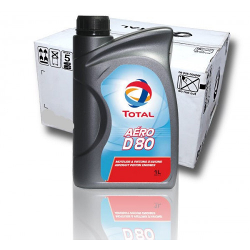 Total Aero D80 - Case of 18 Litre Bottles