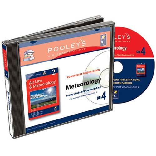 CD ROM - AIr Law & Meteorology Powerpoint