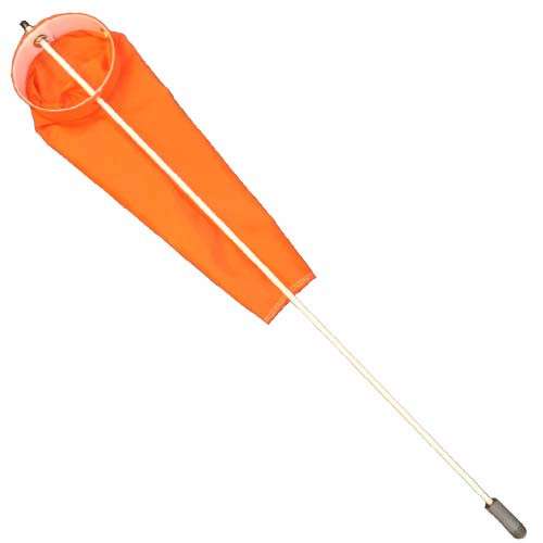 24 Inch Windsock with 4ft Pole