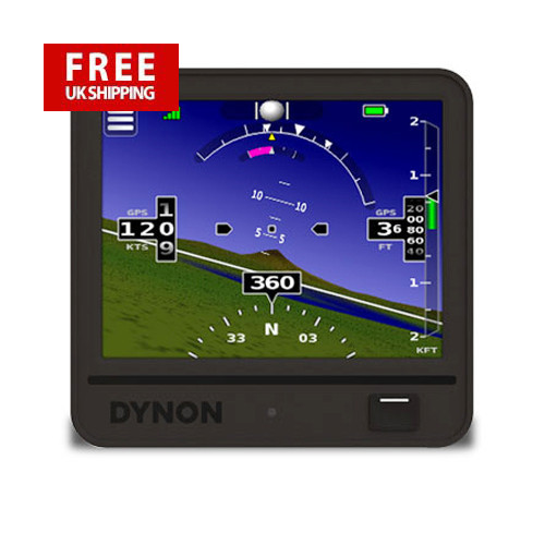 Dynon D3 - PortableTouchscreen EFIS with Synthetic Vision