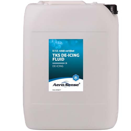 Aero-Sense TKS De-icing Fluid 20Lt
