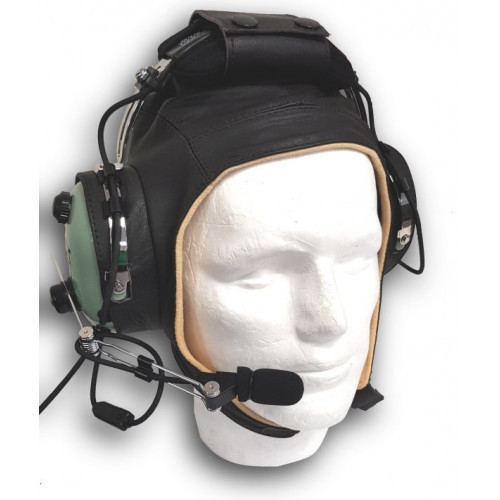 Leather Headset Helmet a