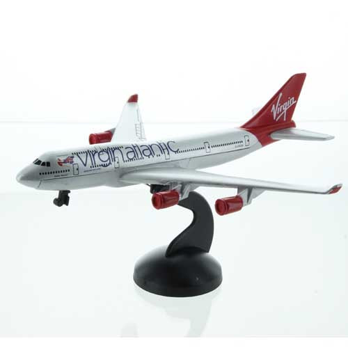 Virgin Atllantic 747-400 Toy Diecast model