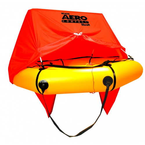 Aero Compact 4 Man Liferaft with Canopy