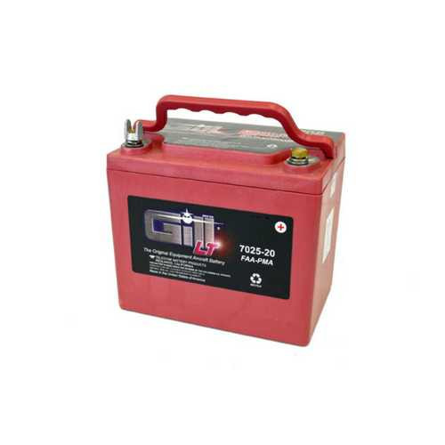 Gill Aircraft Battery 7025-20 (old G25S)