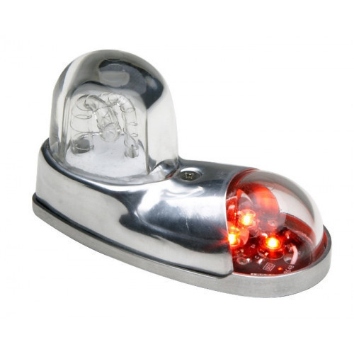 Whelen 71110 Series Position/Anti-Collision Light Green/red