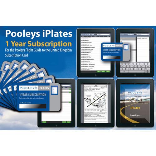 Pooleys iPlate - 1 year Subscription