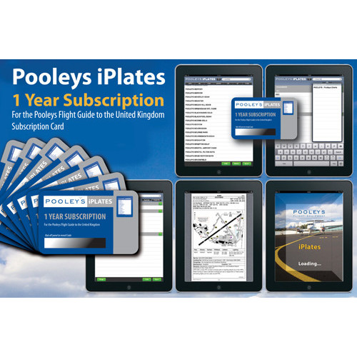 Pooleys iPlate - 1 year Subscription