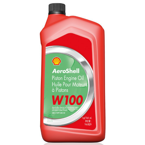 AeroShell W100 - 1 US Quart Bottle