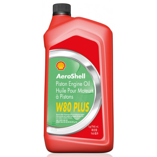 Aeroshell W80 Plus - 1 US Quart