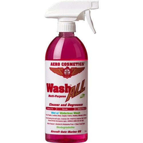 Aero Cosmetics Wash ALL Cleaner and Degreaser