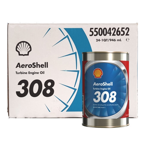 AeroShell Turbine OIL 308 - 24 x 1 US Quart