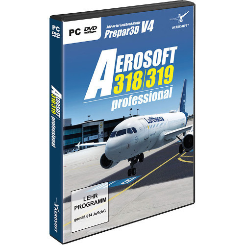 Aerosoft Airbus A318/A319 professional Cover