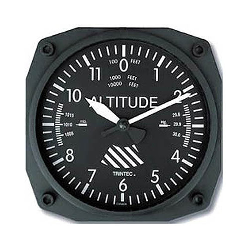 """6"""" Wall CLock - Altimeter"""