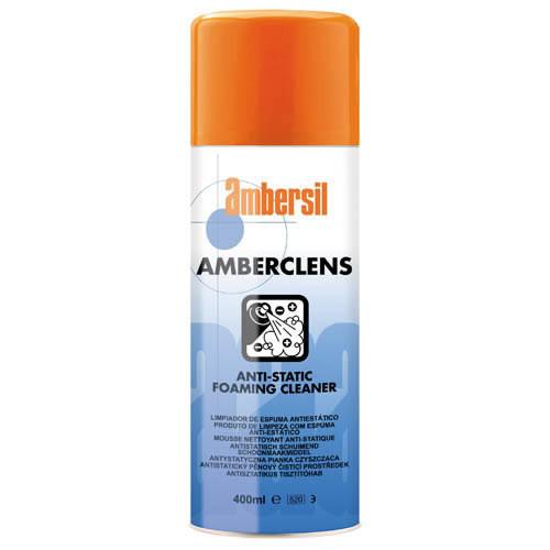 Ambersil Amberclens Anti-Static Foaming Cleaner - Aerosol 400ml