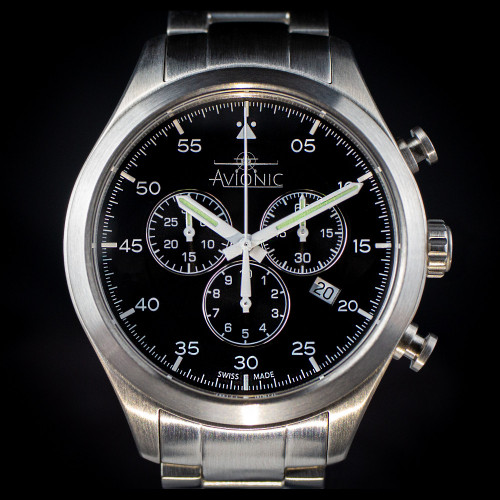 Avionic Airman Pilots Chronograph Watch
