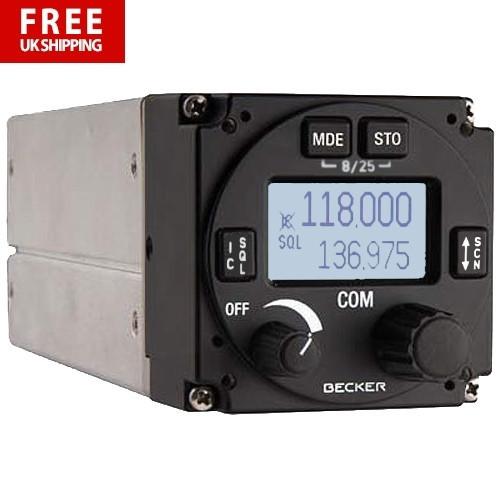 Becker AR6201 VHF Transceiver 8.33 - 6W Output