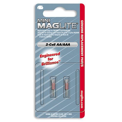 Maglite bulbs size AA & AAA