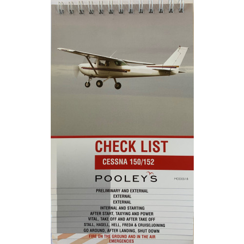 Pooleys Cessna 150 & 152 Checklist