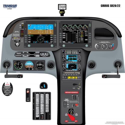 Cirrus SR20/22 Cockpit Training Poster