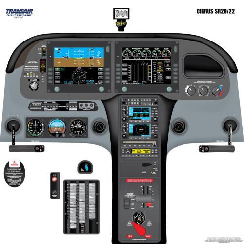 Cirrus SR20/22 Cockpit Training Poster