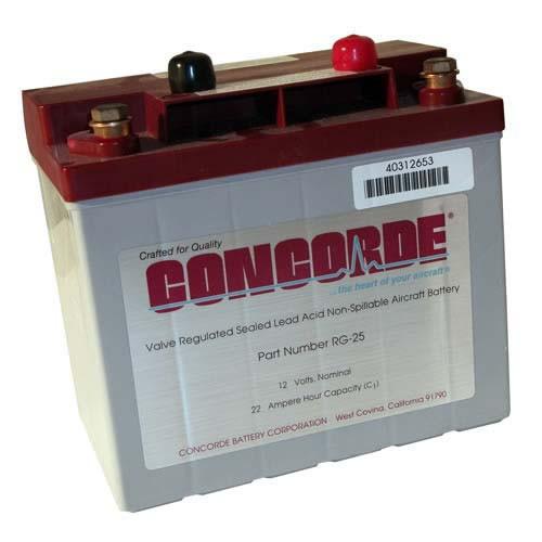 Concorde Battery RG24-12 24V 11AH