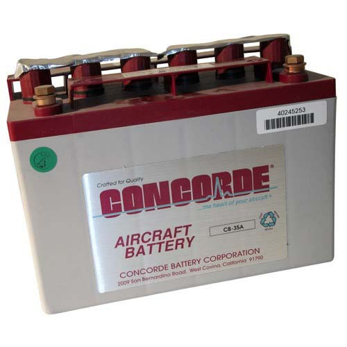 Concorde Battery RG-12 LSA