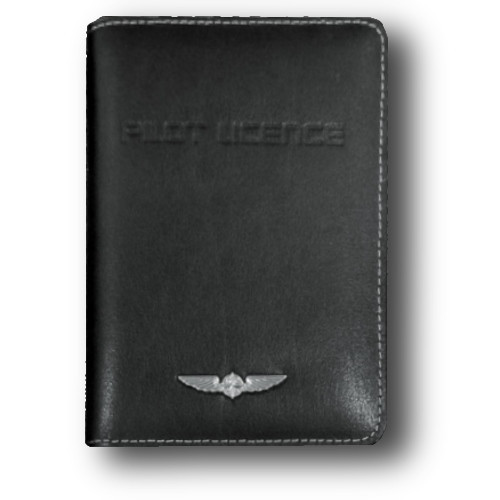 Design4Pilots EASA Deluxe Leather License Cover