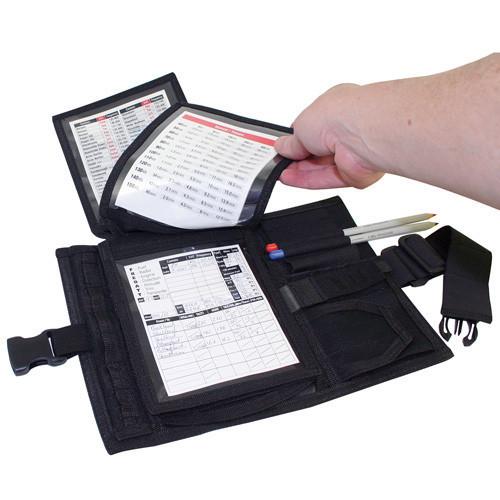 Transair Cloth Kneeboard FLIP TC-2 Black - Small
