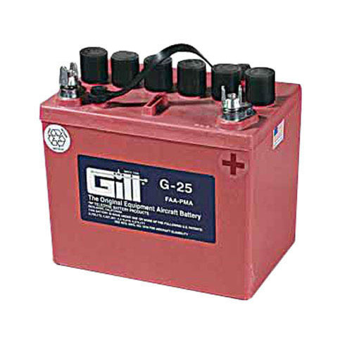 Gill Battery G-25 12V Dry Charged