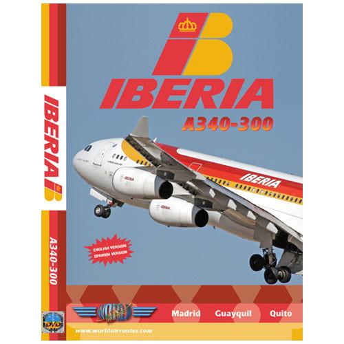 IBERIA Airbus A340-300 - DVD