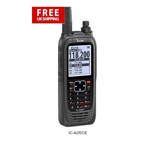ICOM IC-A25CE Transceiver- Pro Pack