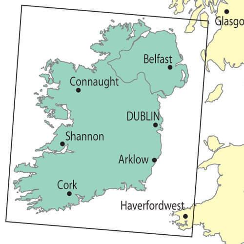 Ireland LAM ICAO Chart 1:500000