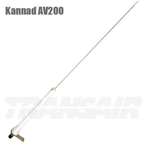 Kannad AV200 White WHIP Antenna Low Speed 250 KN