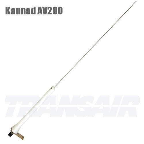 Kannad AV200 White WHIP Antenna Low Speed 250 KN