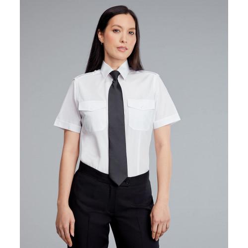 Ladies Pilot Shirt - Front View