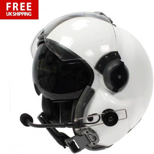MSA Helmet LH250 - Twin Visor with Passive Comms