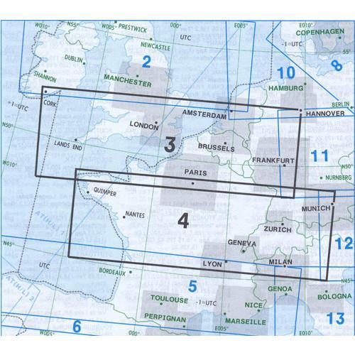 Jeppesen E(LO)3+4 IFR Enroute Chart