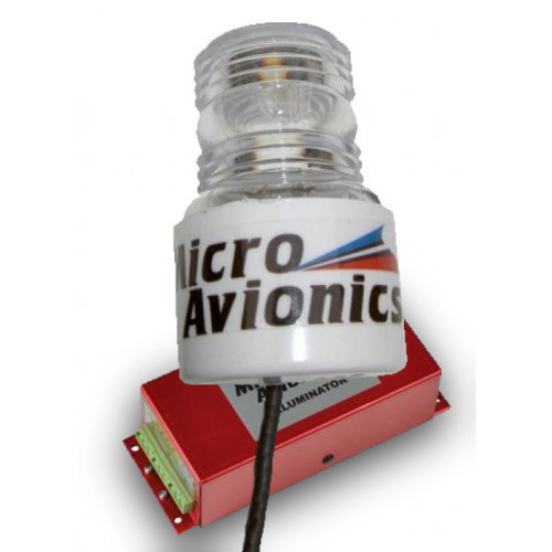 Microavionics MM031 Strobe with Cylinder Lens