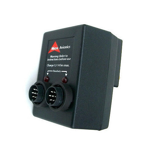 Microavionics MM002 Twin Headset Charger